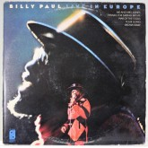 Billy Paul / Live In Europe