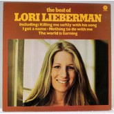 Lori Lieberman / The Best Of